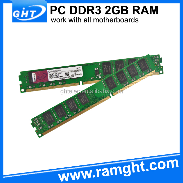Non ecc unbuffered CL9 cheap DDR3 2GB ram memory wholesale, ddr3 2gb