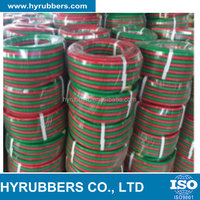 china manufacture Fiber Braided Twin or Single Welding Hose