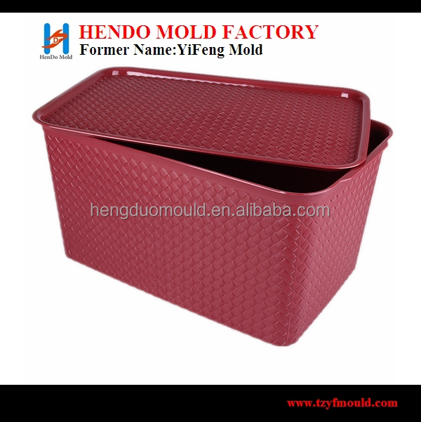 2014 bset selling plastic Taizhou moulds for storage box