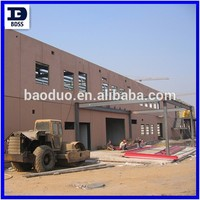 light weight China steel structure construction building