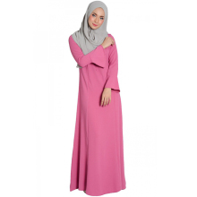Adults Age Group And Women Gender Muslimah Abaya Clothing Plain Maxi Dress Jubah