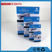 Yesion 2015 Hot Sales! China Manufacture Laminated Sheets, A4 Size Glossy Photo Laminating Pouch Film