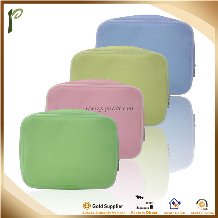 Popwide newest thick water-proof EVA cosmetic bag with zipper