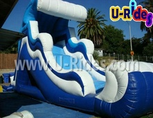 Ocean Wave Inflatable Water Slide