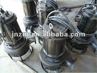 submersible wear resistant sand dredge pump for rive saltwater sea