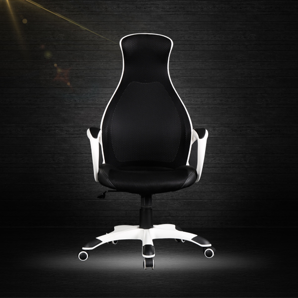 Racing style office chair fashion designs office chair with backrest
