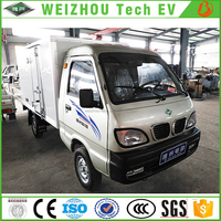 Low-speed Electric Cargo Van With Four Wheel Two Seats