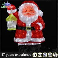 LED street scene Light /Holiday & Christmas LED 3D motif light decoration Santa Claus