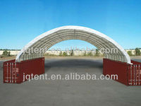 JQR4040C steel frame container tent