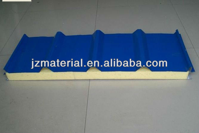 950mm /1000mm PU Sandwich panel manufacturer ,for roof and wall