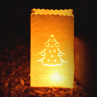 Wholesale creative candle bags luminaries