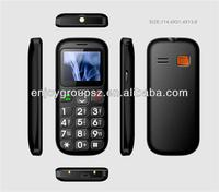 W76c 1.77inch big boutton with sos 3G dual sim elder senior mobile phone without camera
