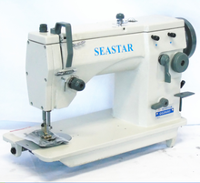 industrial box stitch sewing machine with foot pedal to jeans GG20U93