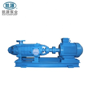D Cast Iron or Stainless Steel Horizontal Multistage Centrifugal Pump
