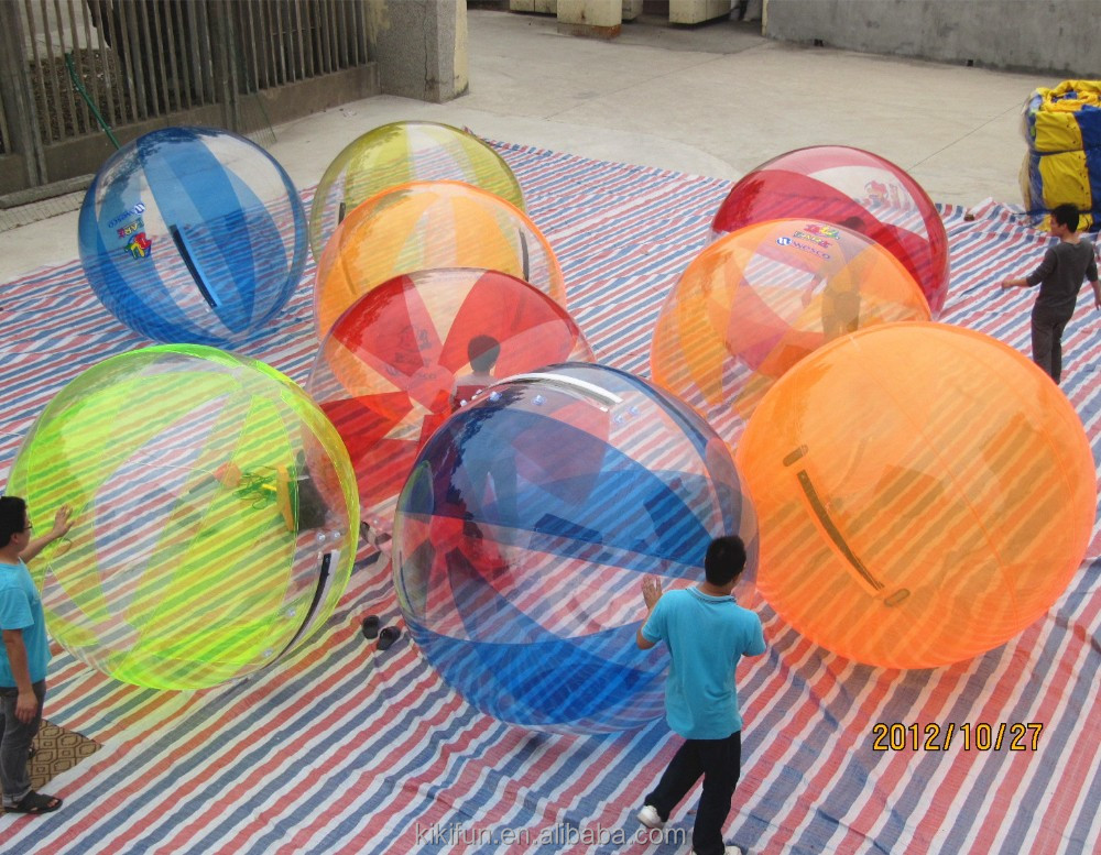 Inflatable water walking ball/ huge inflatable water balloon/ walk on water plastic ball