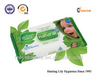 antibacterial skin Baby natural care wipes spulance nonwoven fabric OEM