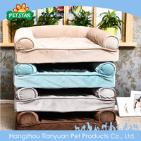 Outdoor Comfortable Breathable Fabric Fluffy Cheap Pet Bed For Dogs