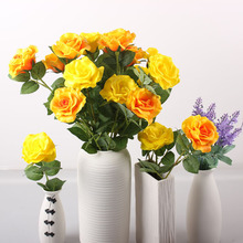 PU Rose church flower decoration wedding flower stand decoration wedding stage flower decoration