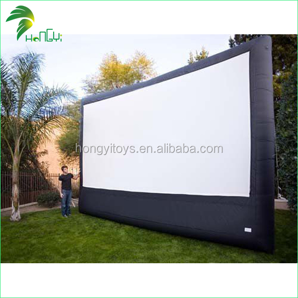 Big excellent quality outdoor cinema inflatable Cinema Movie screen