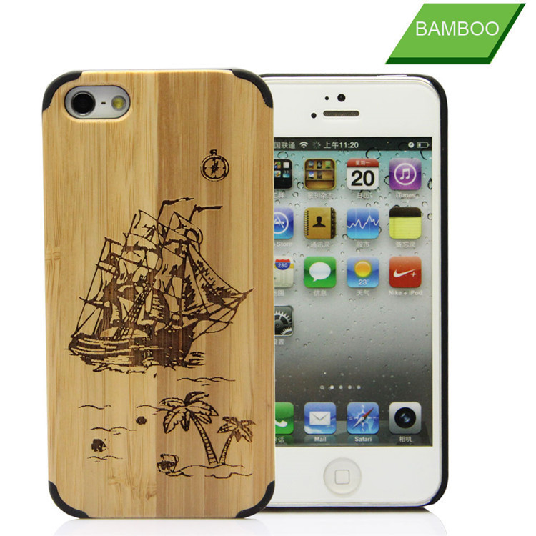 Handmade for wood iphone 5 case,for wood iphone 6 case ,for wood case iphone 6 5 with logo engraved