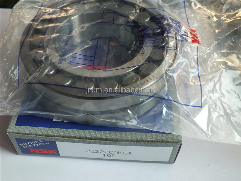 Japan NSK Spherical Roller Bearing Self-Aligning Roller Bearing 22222 CAKE4