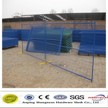 pvc temporary panel for canada market/Easy installation Temporary security fencing
