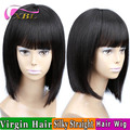 2017 New Arrival XBL Short Straight Bob Wig Within Hair Bang