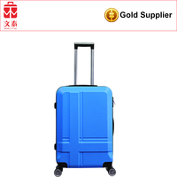 professional OEM polo traveling bags travel trolley luggage aluminum frame luggage