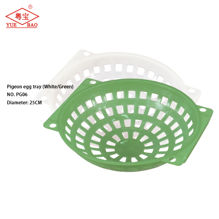 Manufacturers offer cheap prices pigeon egg tray plastic bird cage accessories