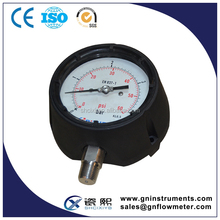 Safety Case Pressure Gauge, Safety Pressure meter, safety pressrue gauge
