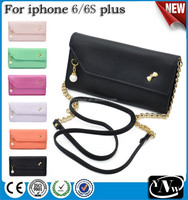 Fashion Crown Hangbag Style Wallet Leather Case For Samsung Galaxy S6
