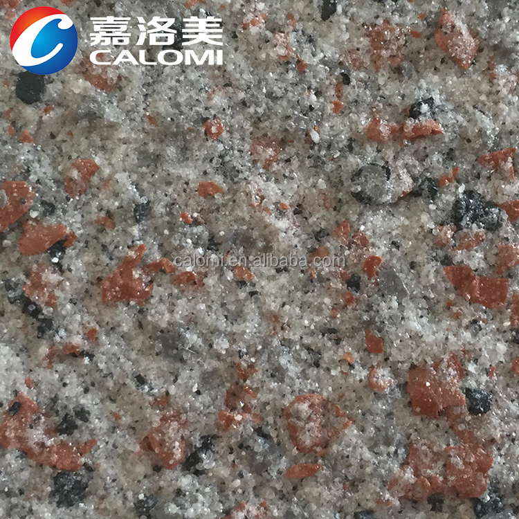 Calomi Color retention waterproof outstanding exterior stone paint