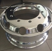 Liquid die forging Aluminum Alloy trailer wheel rim