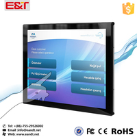 15inch Open Frame capacitive Touch Screen LCD Monitor With DVI/VGA/YPBPR