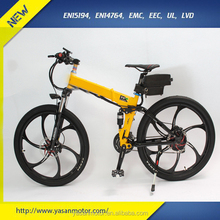 "26"" Integrated Wheel 36V 500W Fast Electric Mountain Bike for Adult, @38km/h Max.Speed"