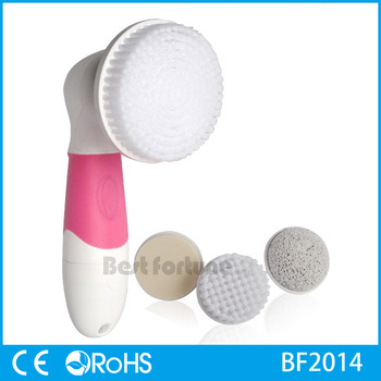 4 in 1 Sillicon Rotary Face Cleaning face brush