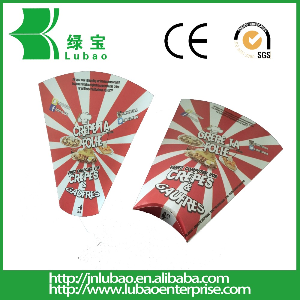 paper cone crepe holder with Full Color disposable paper
