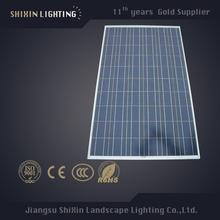 Customized High Efficiency 100w silicon slice poly solar panel
