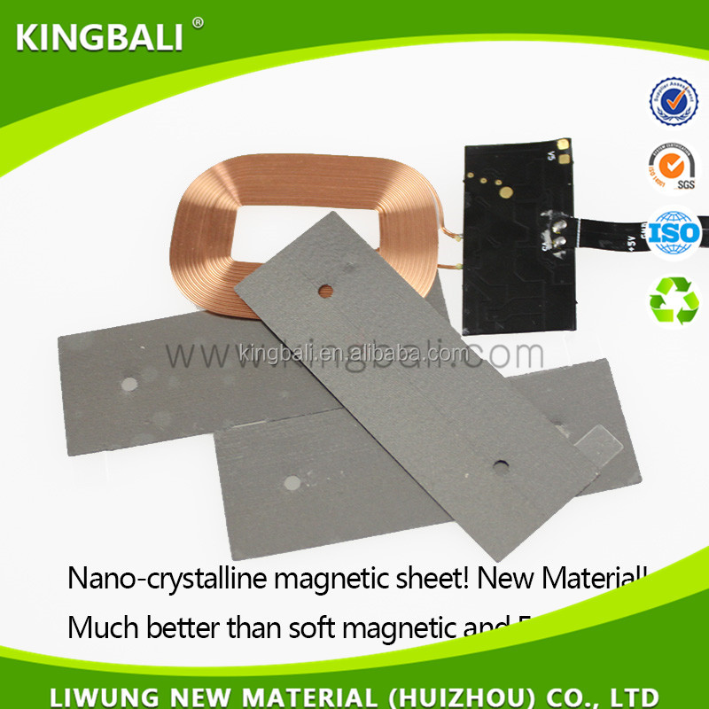 Replace wave absorber electromagnetic shielding material Iron-based Amorphous Ribbon from Kingbali