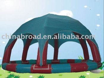 inflatable sunshade pool(YCD-002 8X8m)