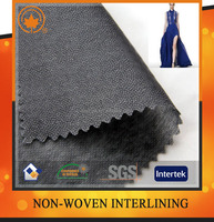 Double sided wholesale fusible interfacing,nonwoven interlining for suit