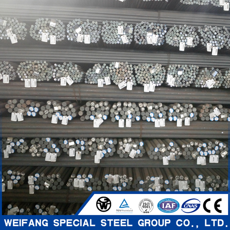 Hot Rolled Bearing Steel Round Bar GCr15 GCr4 GCr15SiMn SUJ2 52100