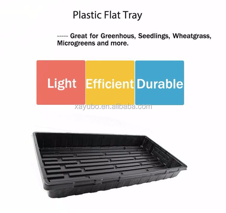 PS plastic hydroponic barley tray, sprouting seedling tray for hydroponic fodder system