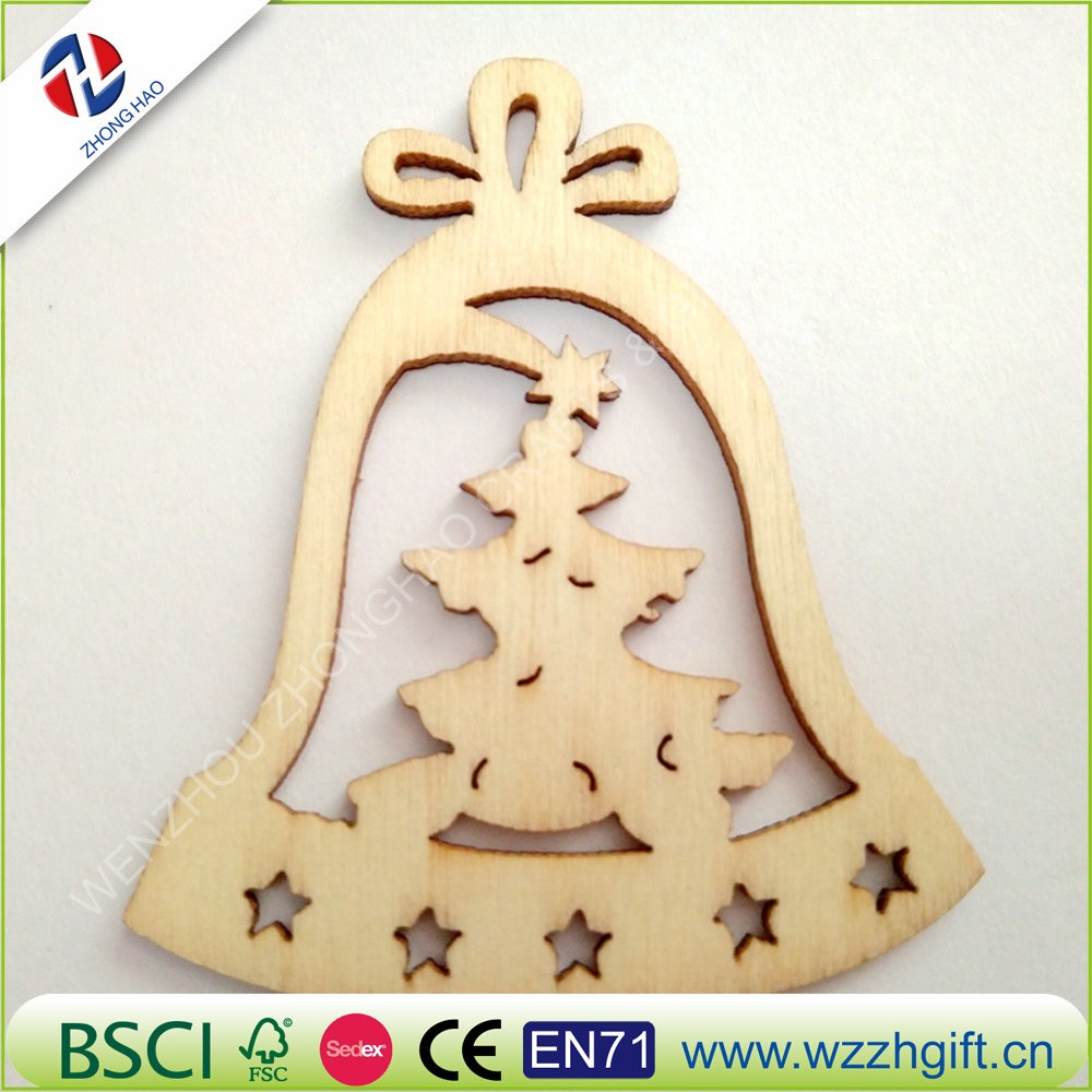 laser cutting wooden christmas decor