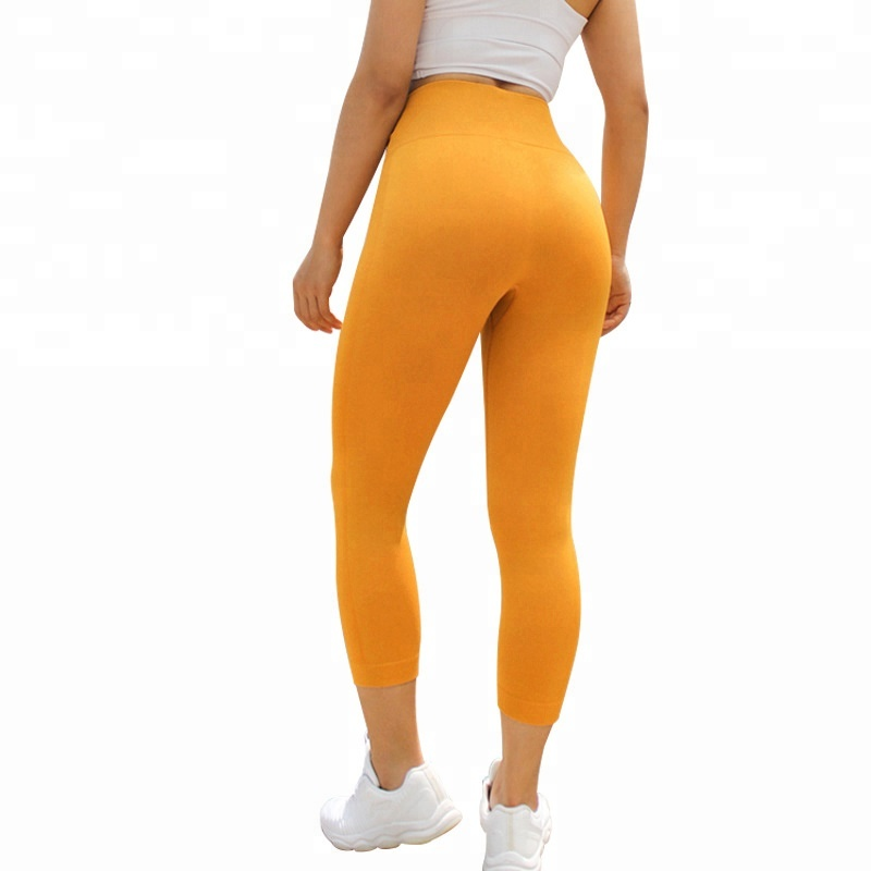 Wholesale High Stretchy Nylon Spandex Slimming Sports Leggings for <strong>women</strong>