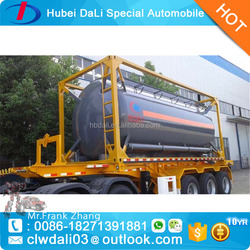 LPG and ammonia gas trailer container