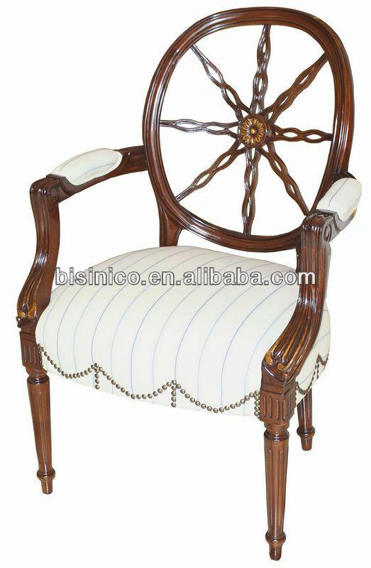 Queen Anne Living Room Furniture-single Arm Chair/sofa Chair,Hand ...