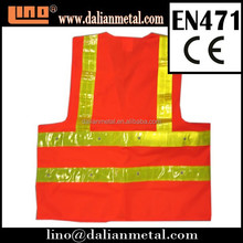 2015 the Best CE & EN471 Approved Red Reflective Vest with Logo