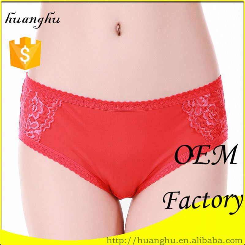 Hot selling comfortable good quality fast delivery hot young girls in white satin panties