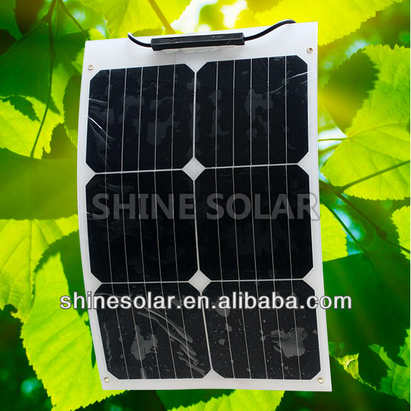 18W,36W Amorphous silicone flexible laptop solar panel